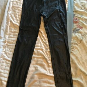 mm Pants - Nordstrom Faux Leather Stretch Skinny Leggings L